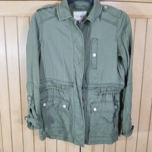 Jessica Simpson Army Green Jacket, sz XS